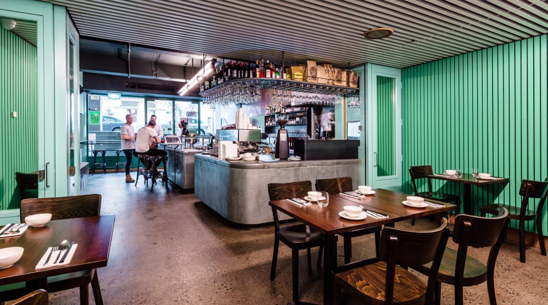 The Colour Palette - Paper Bird Restaurant Interior Paint
